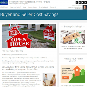 Real Estate Home Sales and Listings in Sonoma County, Ca